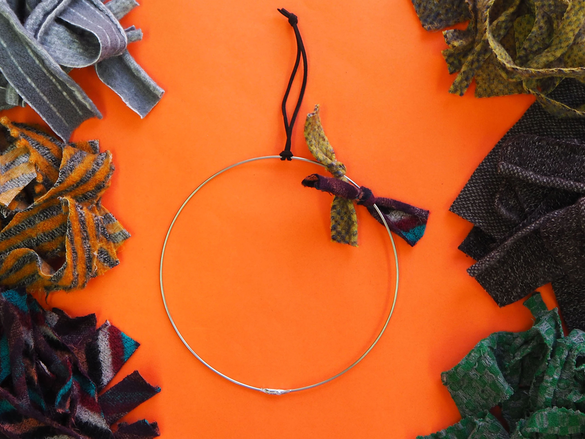 Craft kit Wreath(pink)