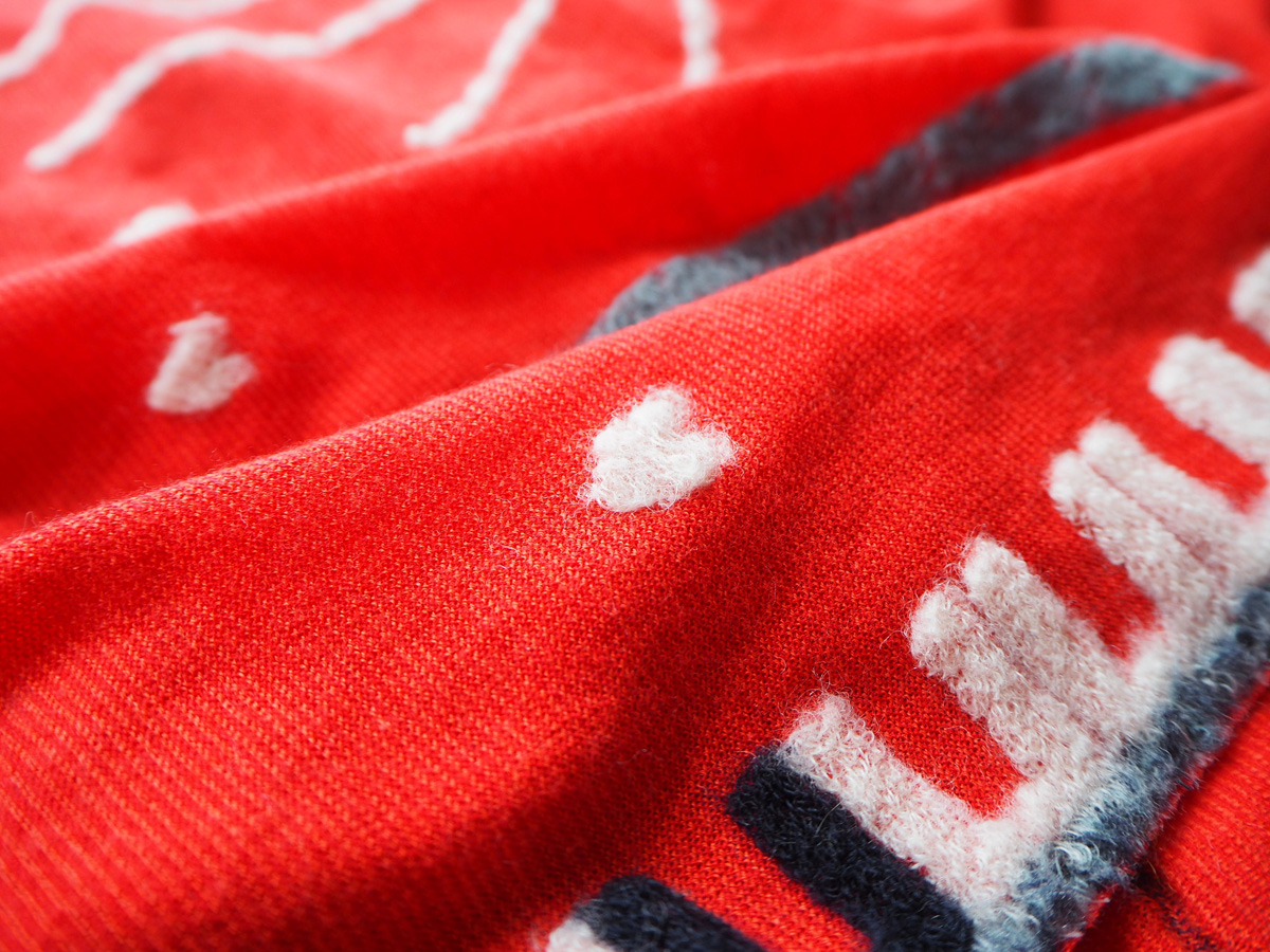 love&peace(red)