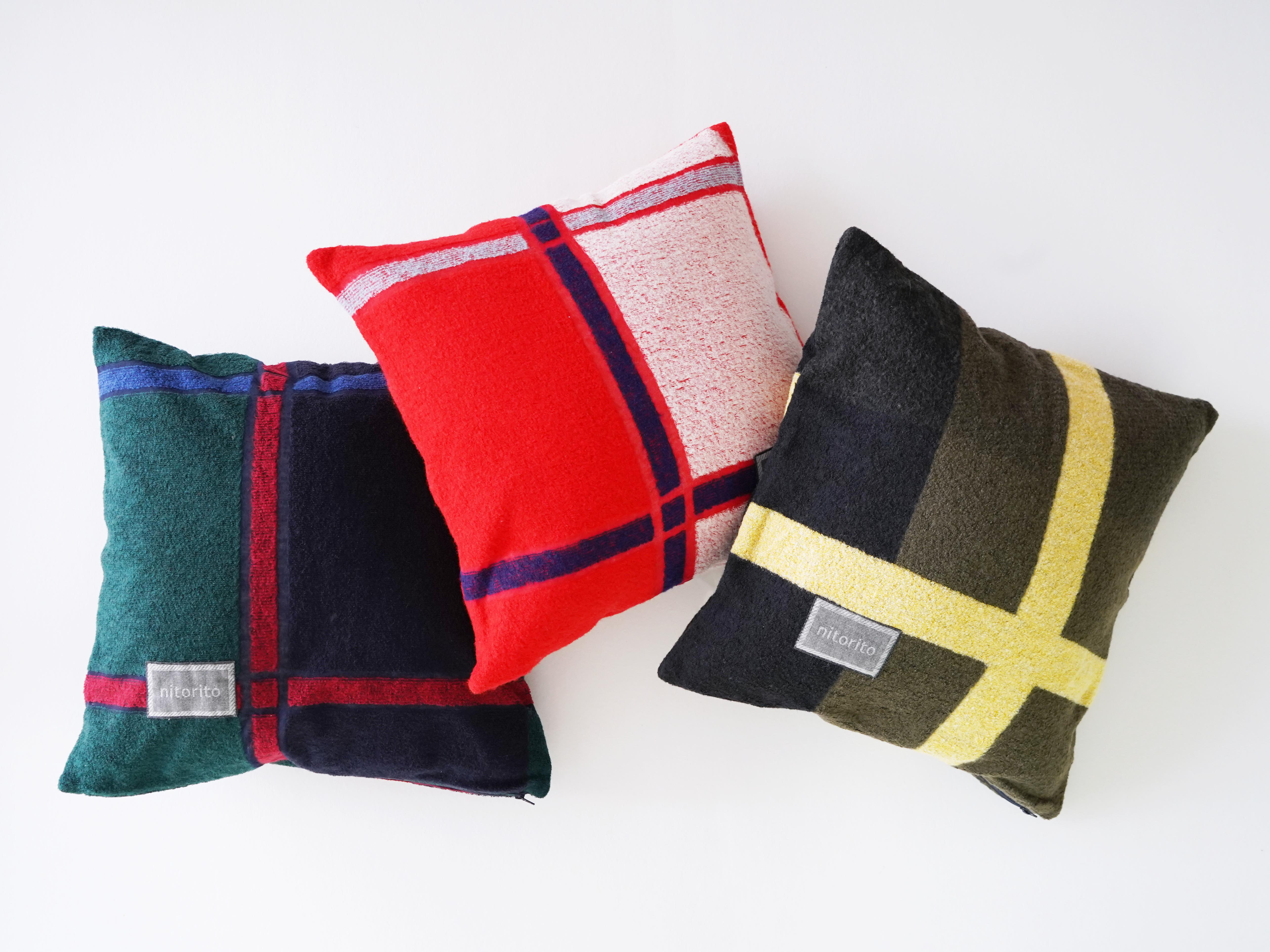 Cushion Cover (tanbo_red)