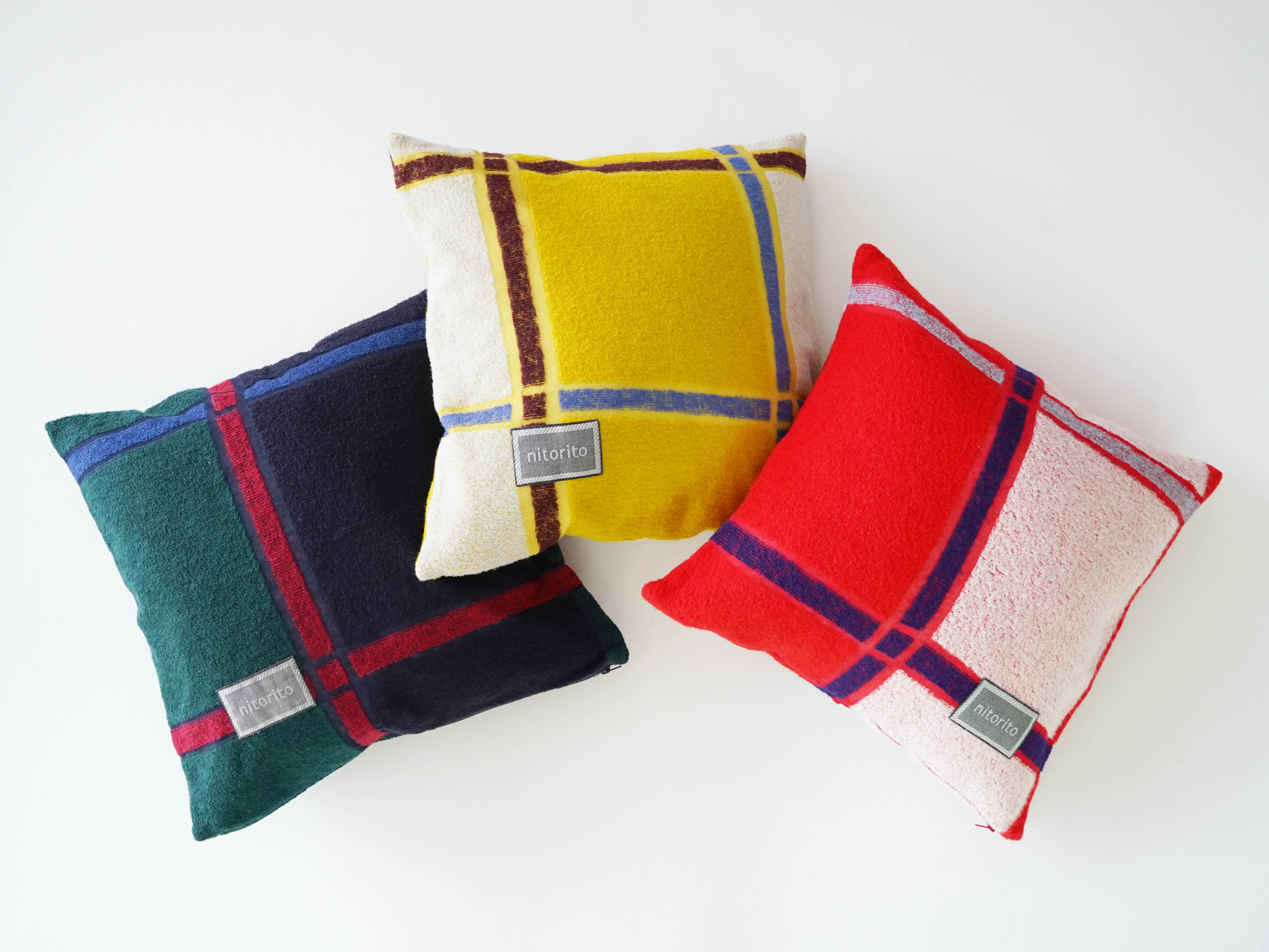 Cushion Cover (tanbo_navy)