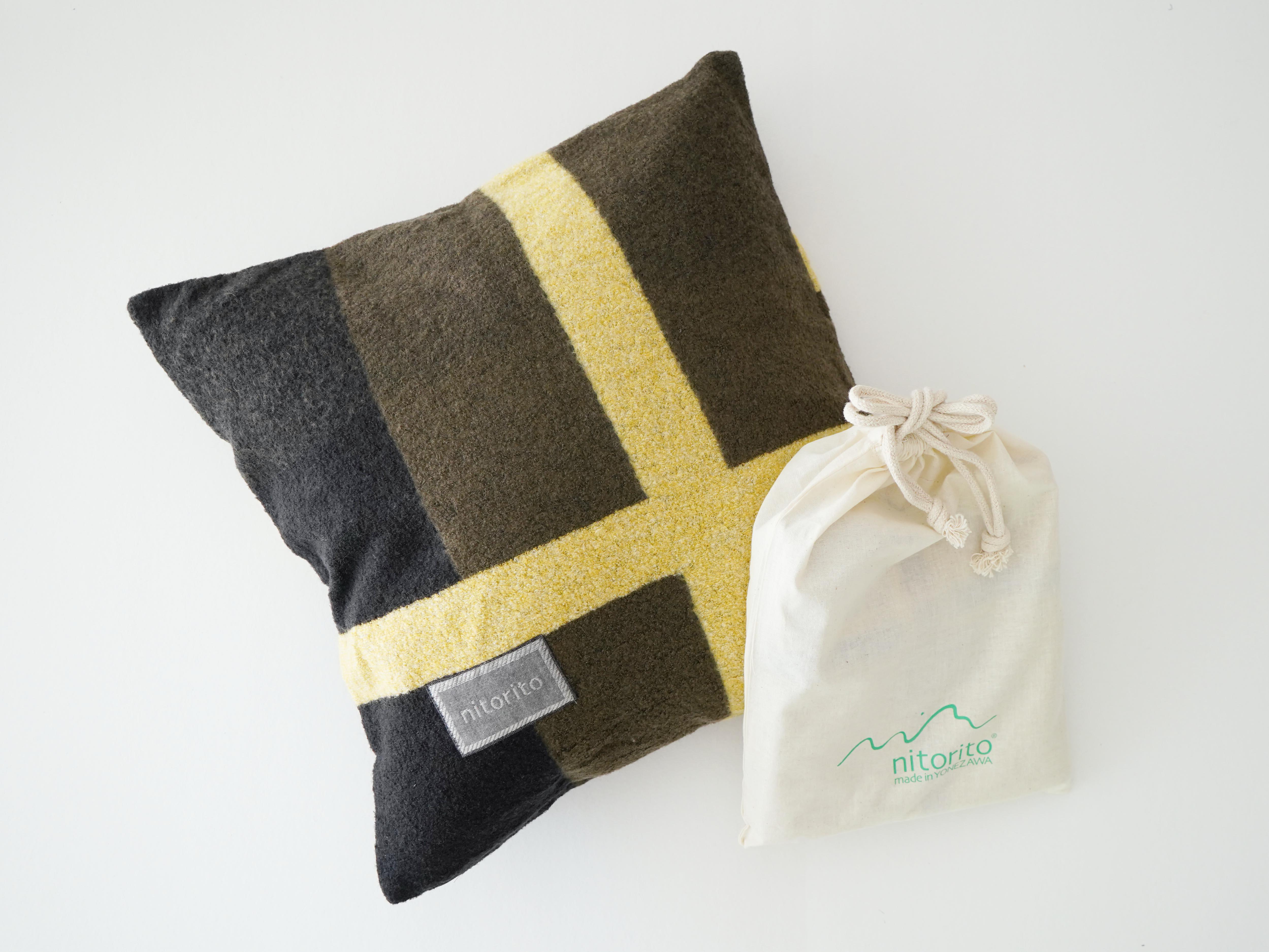 Cushion Cover (wadachi_khaki)