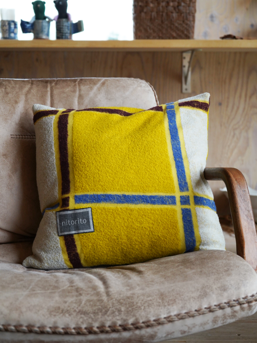 Cushion Cover (tanbo_yellow)